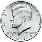 The Uncirculated John F Kennedy US Half Dollar Collection JKU 1