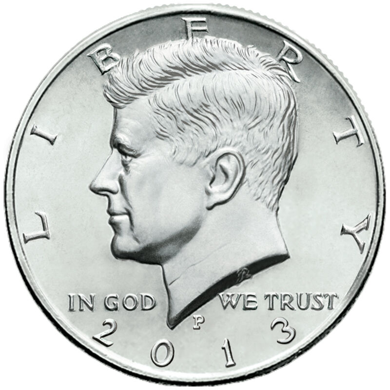 uncirculated 1964 + 4 uncirculated 1965 silver Kennedy half dollars 4