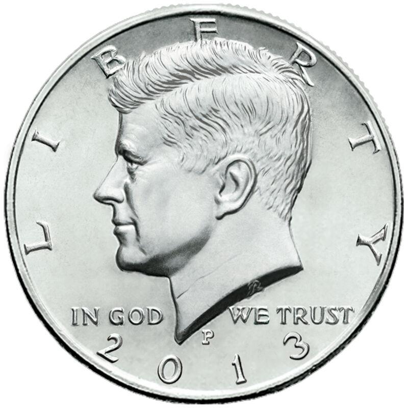 uncirculated 1964 + 4 uncirculated 1965 silver Kennedy half dollars 4