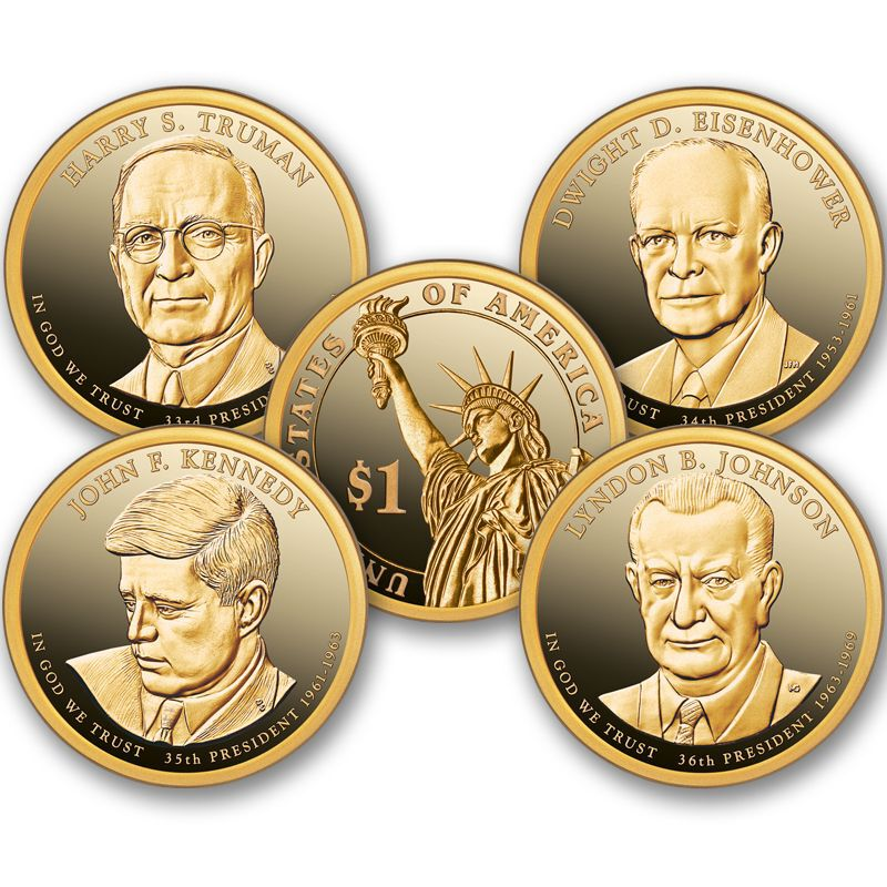 2015 First Strike Proof Presidential Dollar Coins PFS 1