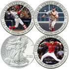 The 2018 Boston Red Sox World Series Champions Commemorative Coin Collection W18 1