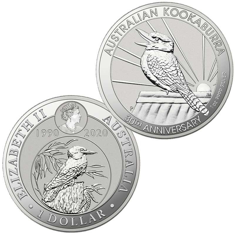 The 2020 Early Issue Australian Silver Dollar Set A20 2