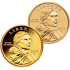 complete sacagawea gold dollar coin collection NPU a Main