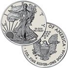 The Complete Set of American Eagle Silver Dollars SET 2