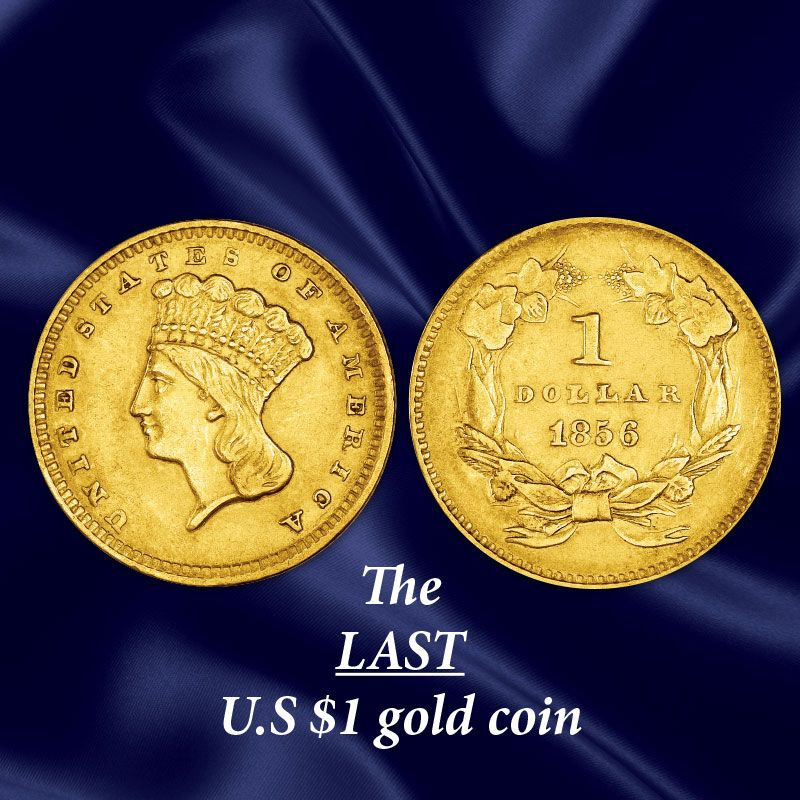 The US Indian Head Gold Coin Collection GHI 4