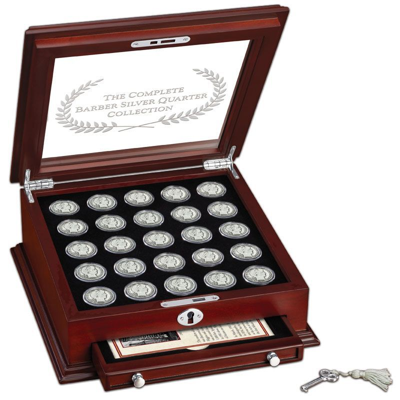 The Complete Barber Silver Quarter Collection BQC 3