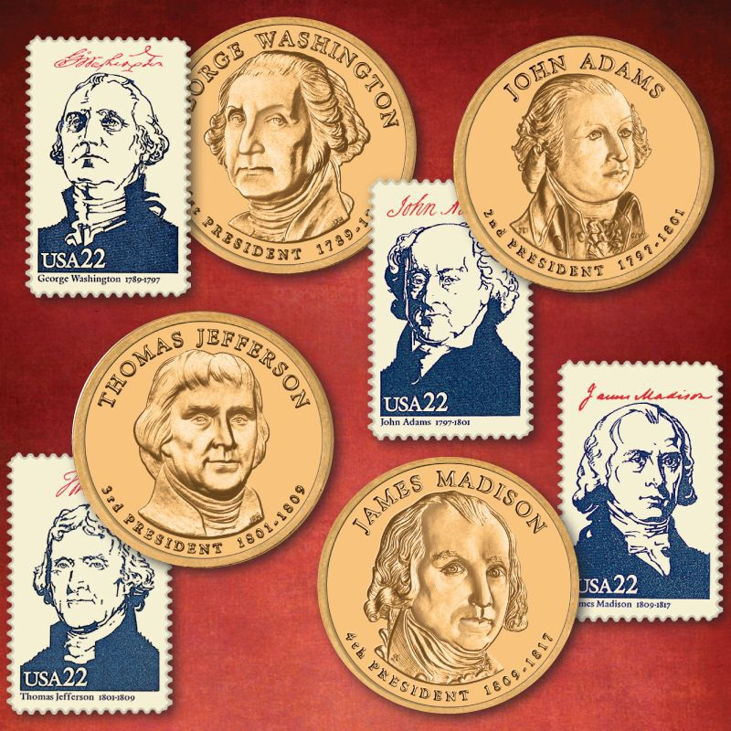 The Complete US Presidents Coin Collection PCU 1