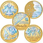 Holographic American Innovation Dollar Coins INH 1