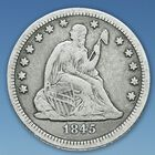 A Century of US Silver Quarters SQT 4