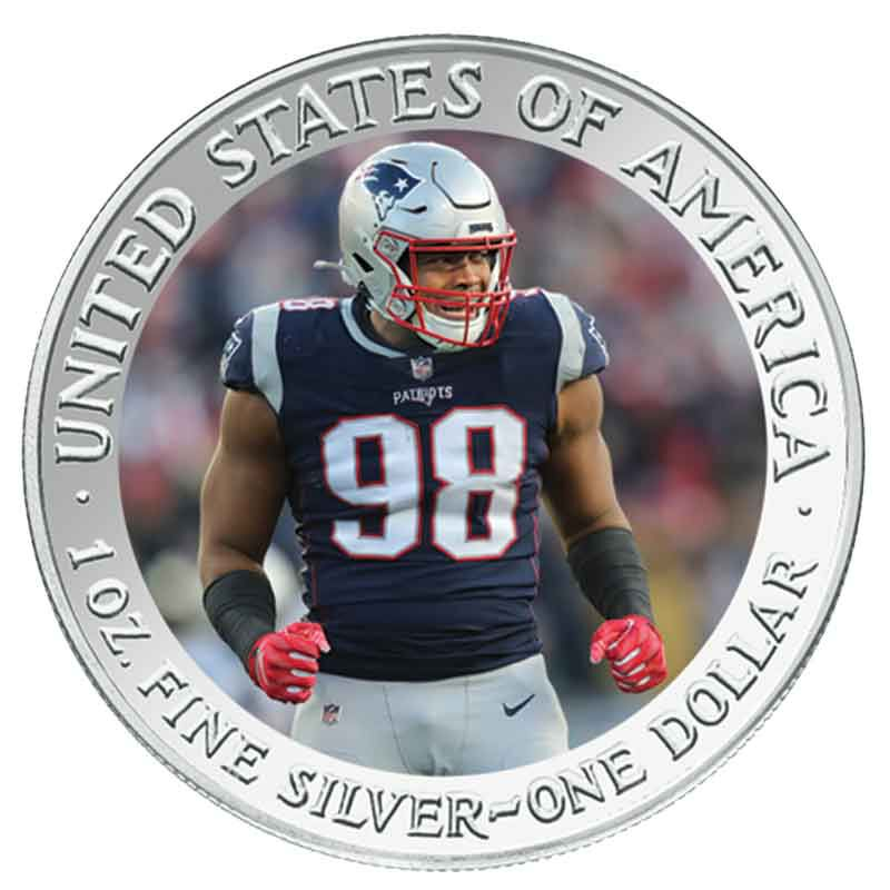 The New England Patriots Super Bowl LIII Champions Commemorative Coin Collection B19 4