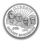 The Complete Set of Mount Rushmore Commemorative Coins MTR 2