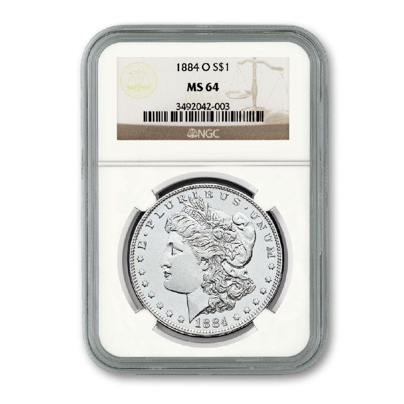 The Choice Uncirculated Morgan Silver Dollar Collection MCU 2