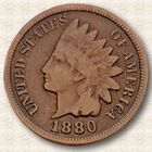 The Indian Head Penny Collection IHC 1