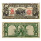 The Famous Ten Dollar Bison Note of 1901 TLT 2