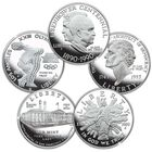 The Proof US Silver Dollar Collection CMS 2