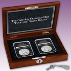 The Only San Francisco Mint Four Ray Silver Dollar PFR 3