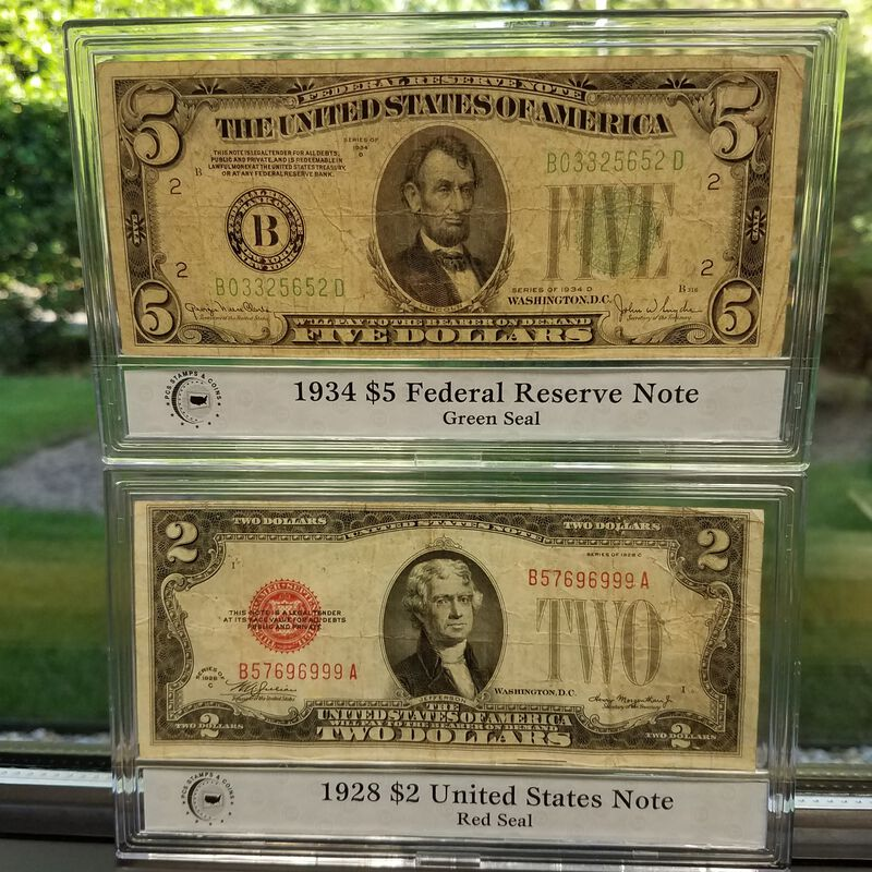 The Complete Collection of Small Size US Currency CUT 3