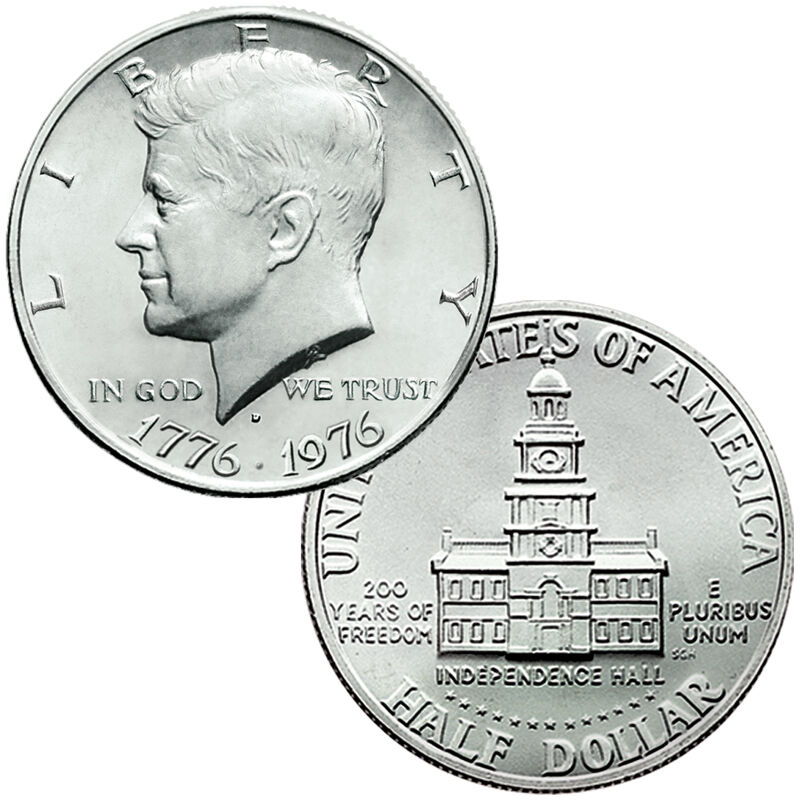 The John F Kennedy Uncirculated US Half Dollar Collection JK2 2