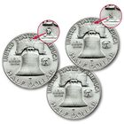 The Complete Benjamin Franklin Silver Half Dollar Collection FHS 3