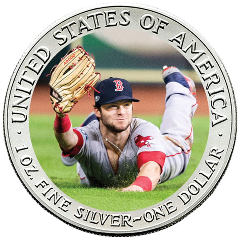 The 2018 Boston Red Sox World Series Champions Commemorative Coin Collection W18 6