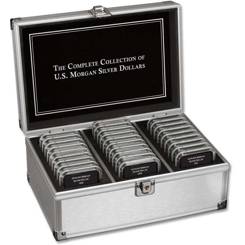 The Complete Collection of US Morgan Silver Dollars MSA 4