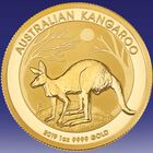 The 2019 Early Issue Australian Gold Kangaroo GAU 1