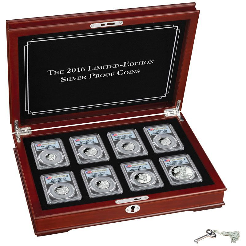 The 2016 Limited Edition Silver Proof Coins SL6 10