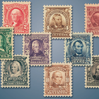 The First Regular Issue US Stamps of the 20th Century TCR 3