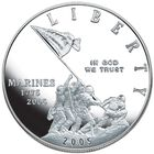 Proof US Silver Dollars ACD 2