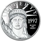 The US American Eagle Proof Platinum Bullion Coin PPE 1
