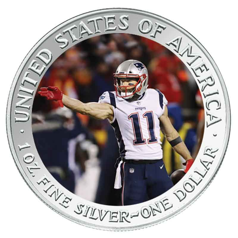 The New England Patriots Super Bowl LIII Champions Commemorative Coin Collection B19 6