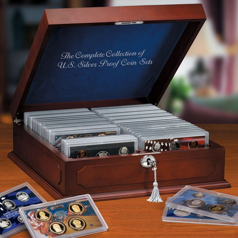 US Silver Proof Coin Sets SPS 2