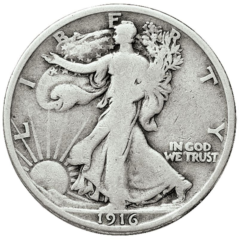 The Complete Collection of Walking Liberty Silver Half Dollars WHS 1