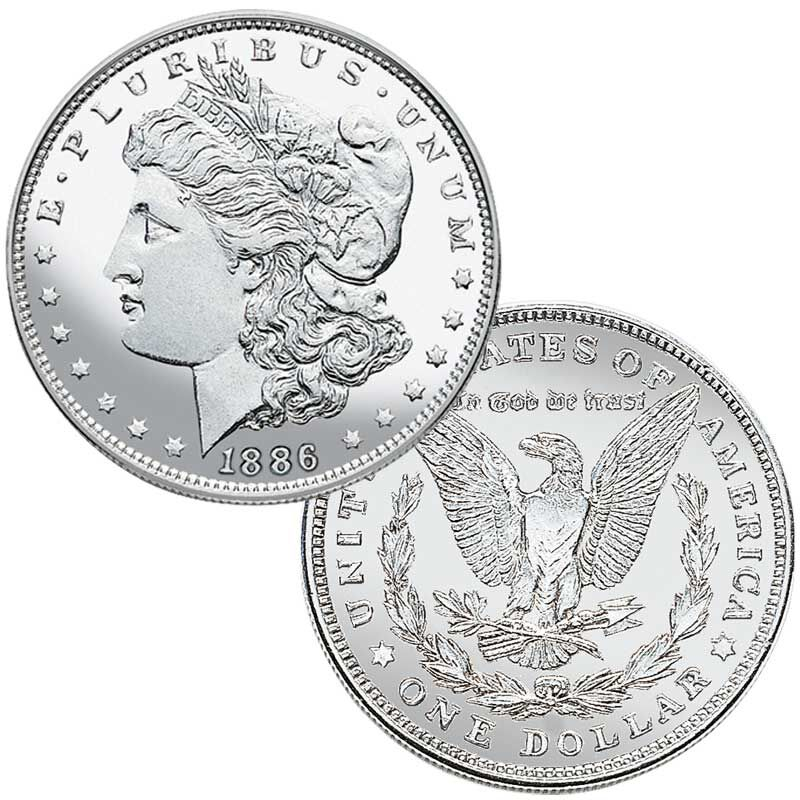 The Uncirculated Morgan Silver Dollars Collection MUC 4