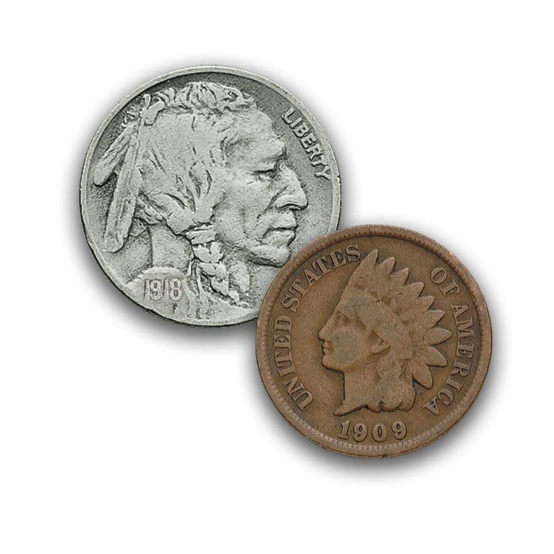 The Last 20 Years of Indian Head Pennies and Buffalo Nickels IPN 4