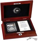 americas first enhanced uncirculated curved coin BEP g Display