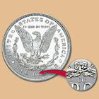The First Carson City Morgan Silver Dollar CD1 1