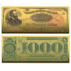 The Greatest US Currency 24kt Gold Note Collection CRG 3