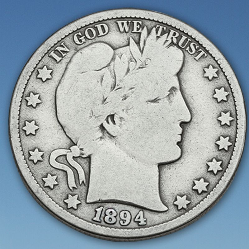 A Century of US Silver Quarters SQT 1
