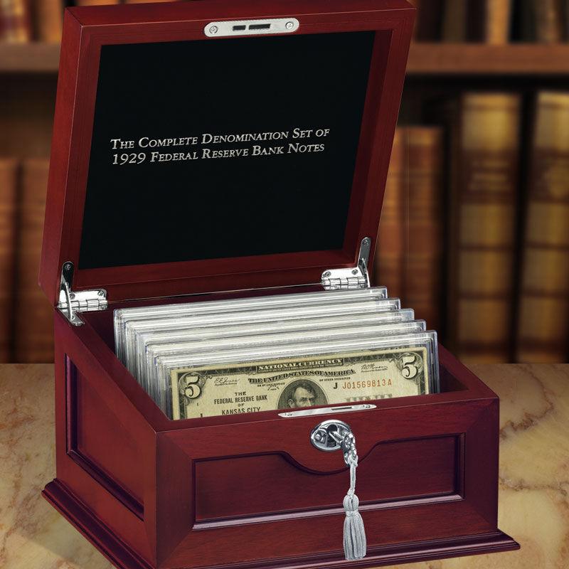 The Complete Denomination Set of 1929 Federal Reserve Bank Notes FR9 2