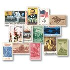 history of america stamp collection AHS a Main