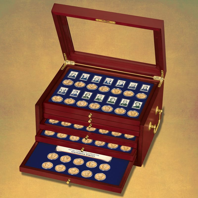 The Complete US Presidents Coin Collection PCU 2