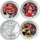 The Kansas City Chiefs Super Bowl LIV Champions Commemorative Coin Collection F20 1