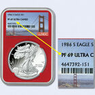 The Original San Francisco Mint Proof American Eagle Silver Dollars EPS 3