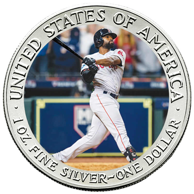 The 2018 Boston Red Sox World Series Champions Commemorative Coin Collection W18 4