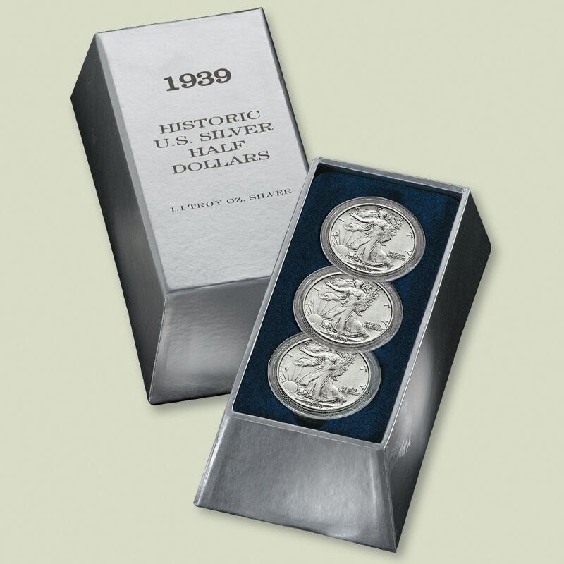 Historic US Silver Half Dollars SHT 3