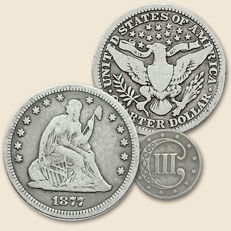 Four Centuries of Americas Silver Coins FR2 4