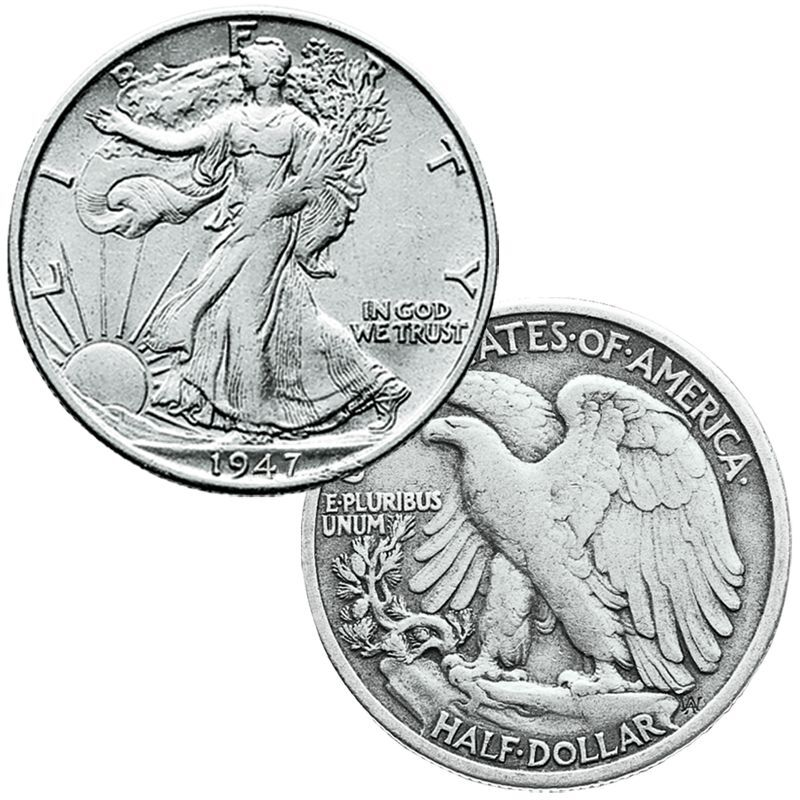 Last Year of Issue US Silver Coins LYS 4