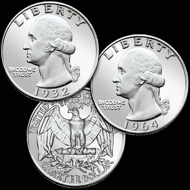 Brilliant Uncirculated Silver Quarters WQS 1