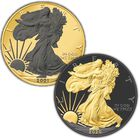 ruthenium gold highlight american eagle silver dollars ERG A Main